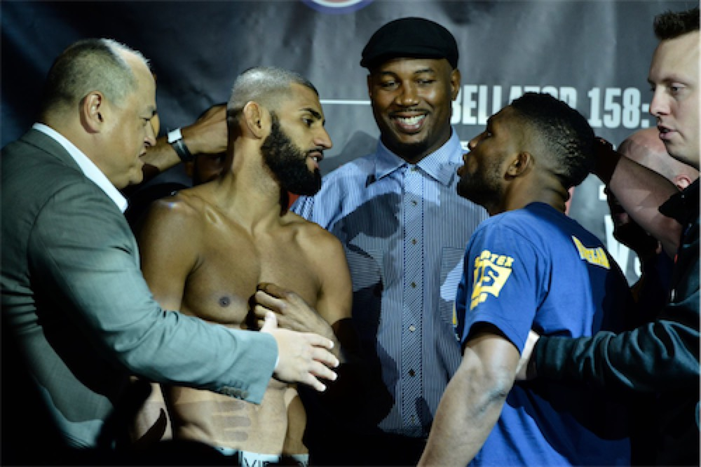 Bellator 158 weigh-in highlights