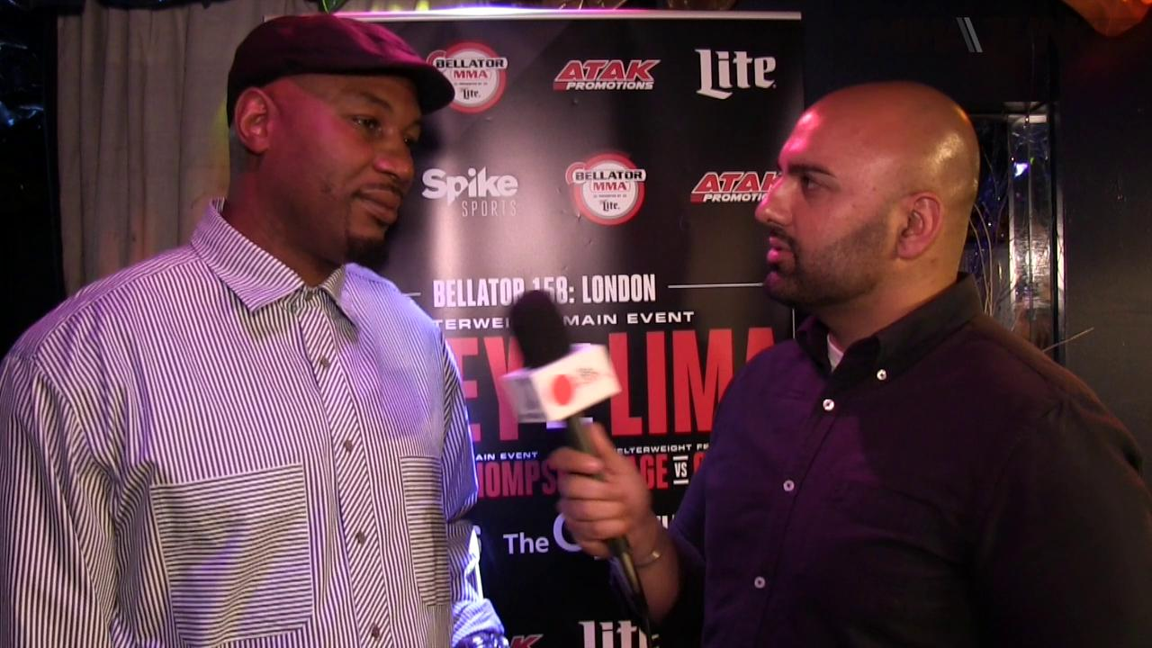 Lennox Lewis on Bellator 158's main event and the UFC sale