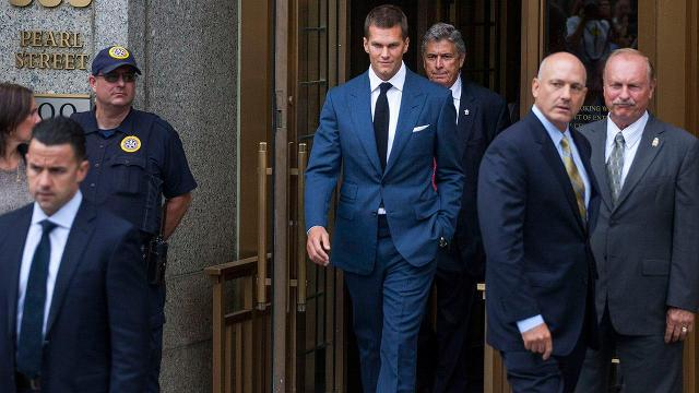 Tom Brady announces he won't fight Deflategate suspension further in court