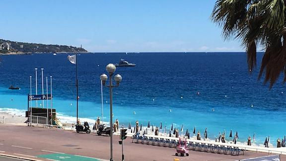 Two cruise lines cancelled calls, but all flights are still on.  The attack in Nice will likely have negative impact on tourism, but experts say it should be short term.