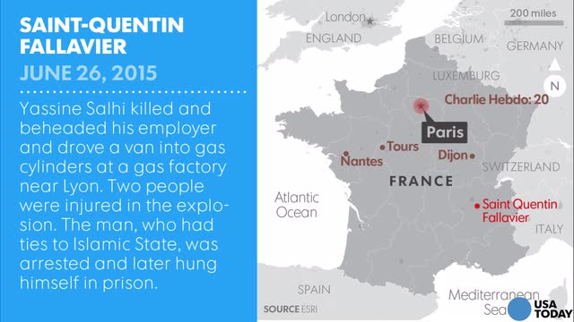 A timeline of terror: Recent terror attacks in France