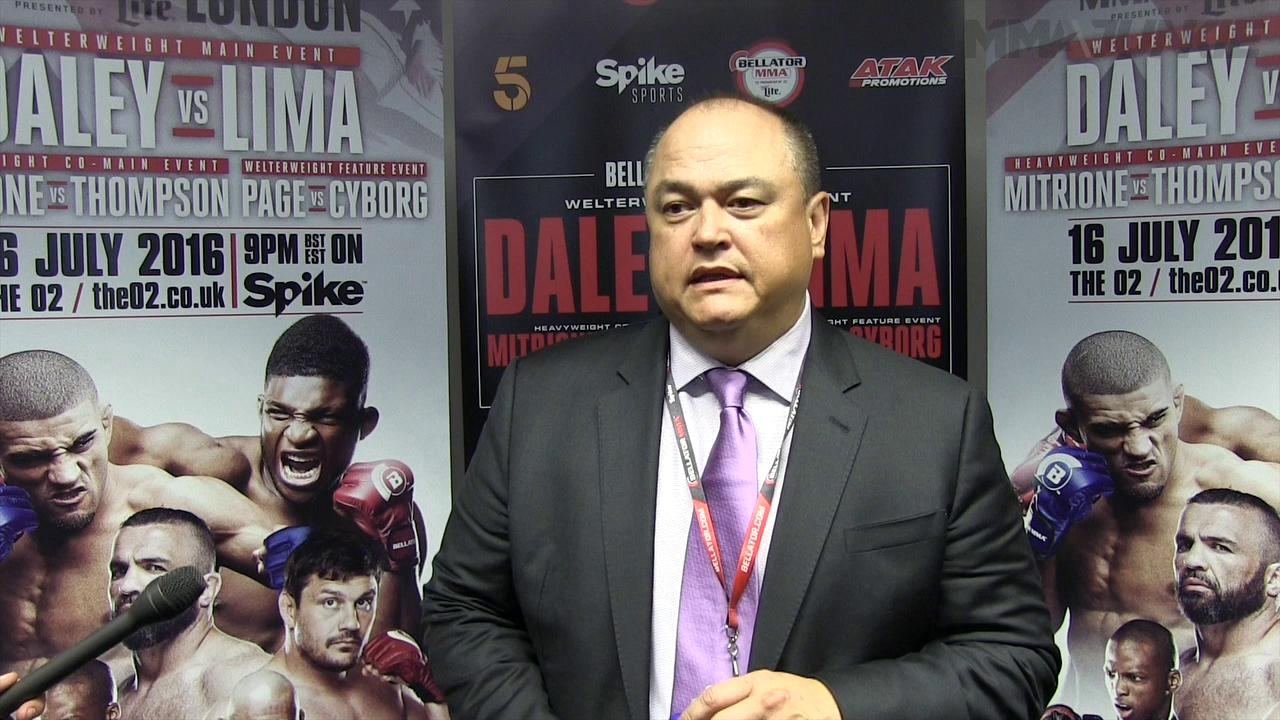 Bellator boss Scott Coker: 'We will definitely be back' to London after success of Bellator 158