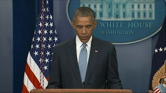 President Obama: Nothing justifies this violence