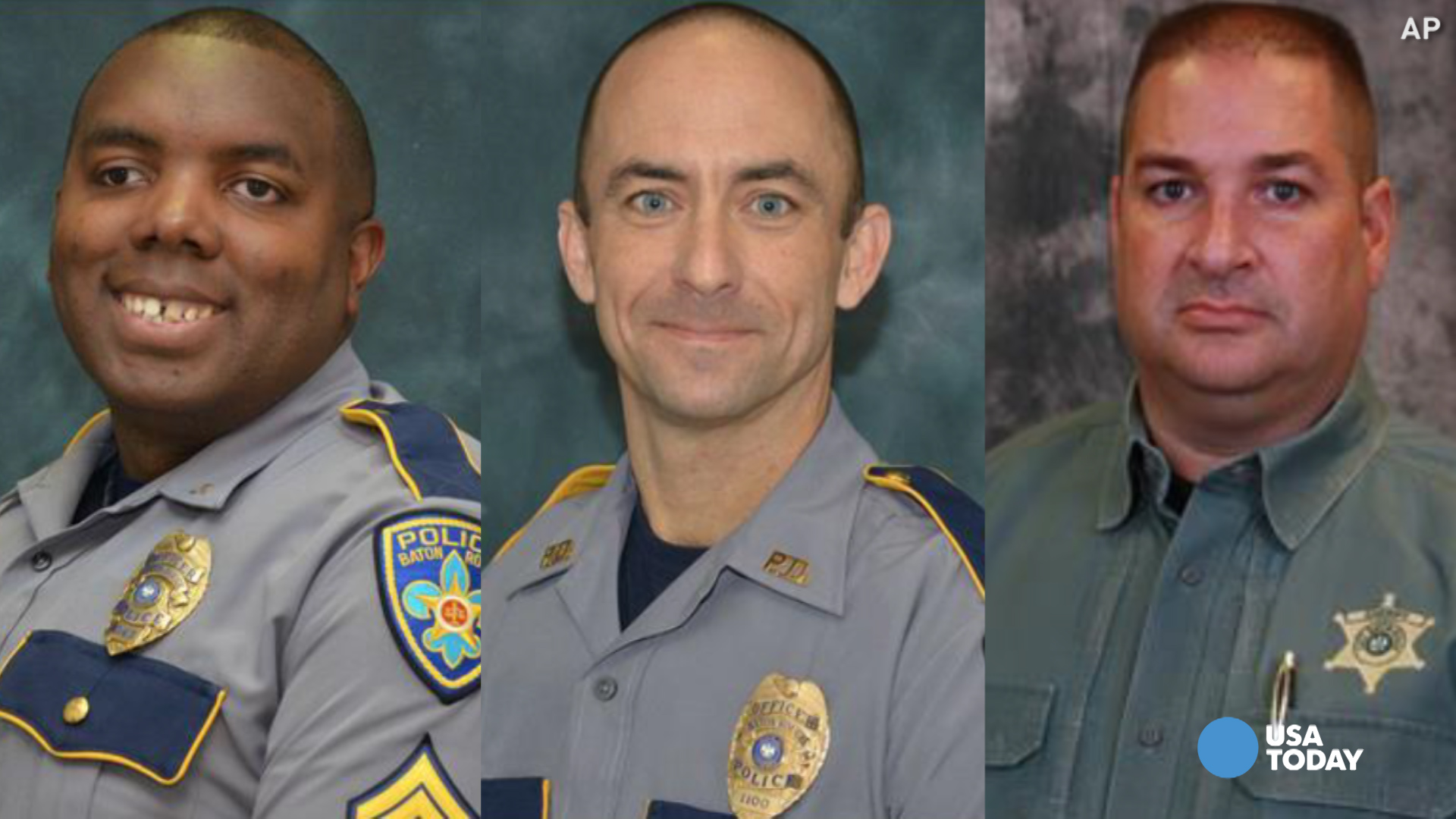 Slain Baton Rouge officers were loving husbands, dads