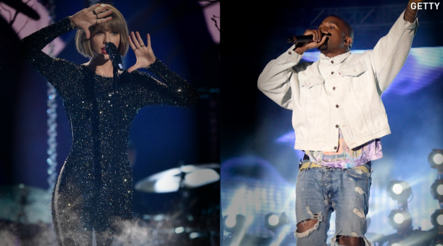 Kim Kardashian posted a video of a call between Kanye West and Taylor Swift to set the record straight after months of feuding over the lyrics of Kanye's song 'Famous.' Swift denies she was made aware of the lyrics, but the call shows otherwise.