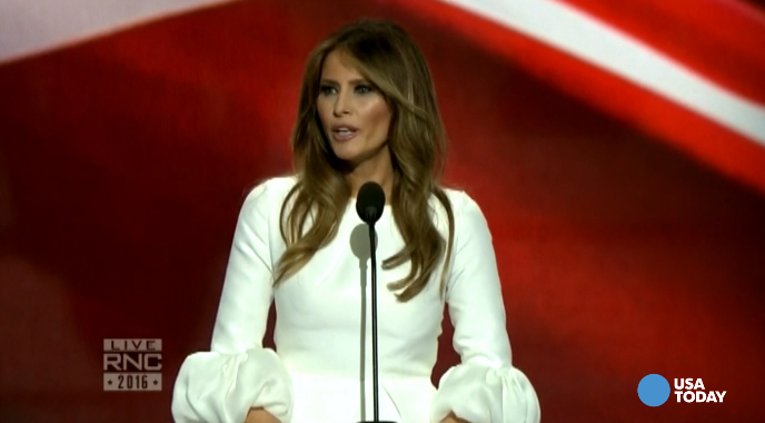 Melania Trump: My husband will 'go to work for you'