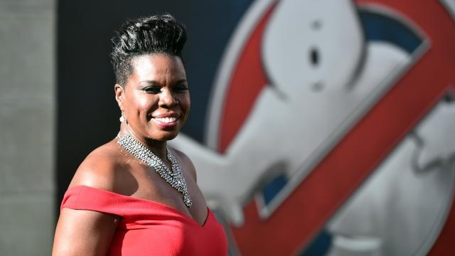 """Since the release of the """"Ghostbusters"""" reboot, the actress has apparently been a lightning rod for racism on Twitter. Now she's fighting back. Video provided by Newsy"""