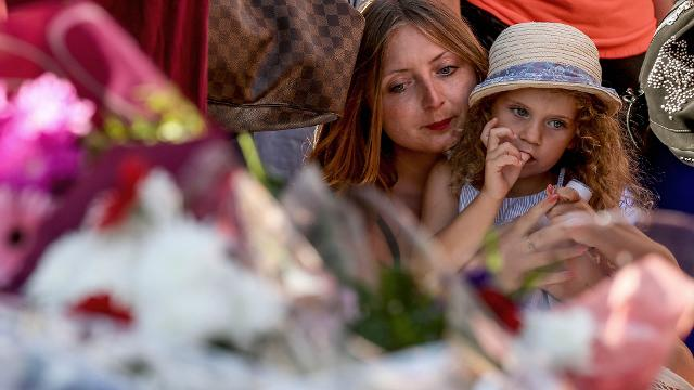 At least 84 people were killed when a truck careened through crowds celebrating Bastille Day in the southern French city of Nice. People gathered to mourn the victims in vigils and displays of solidarity around the world.