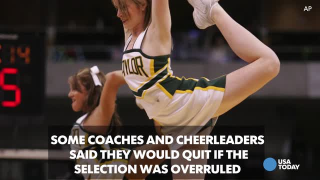 Student threatens to take legal action due to cheerleading team select