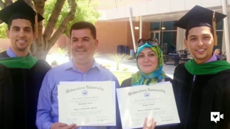 After father flees Iraq, three sons save lives in U.S.