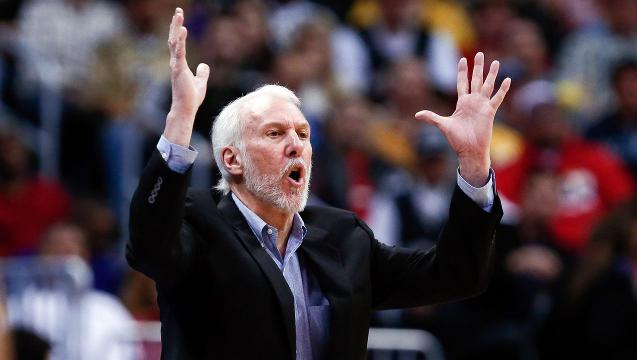 Gregg Popovich enjoys mentoring Select Team