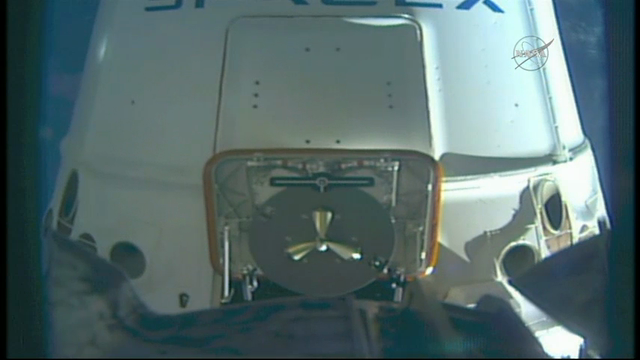 SpaceX Capsule Delivers Docking Port to ISS