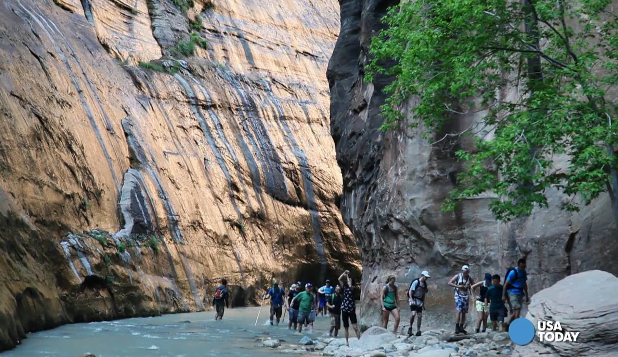 There's a trail for every age and skill level at Zion National Park. Each hike offers spectacular views. Video shot by Marilyn Chung, The Desert Sun.