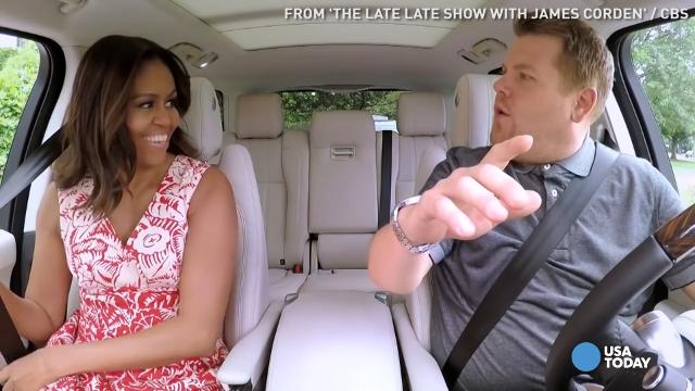 Michelle Obama crushes Carpool Karaoke