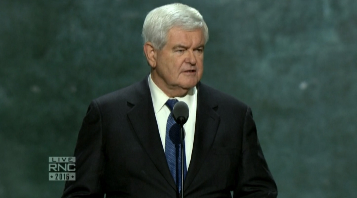 Gingrich: We are at war and Hillary Clinton doesn't get it