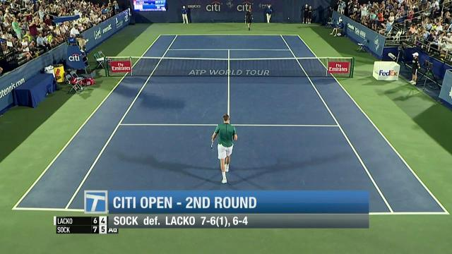 Tennis Channel Court Report: John Isner cruises at Citi Open