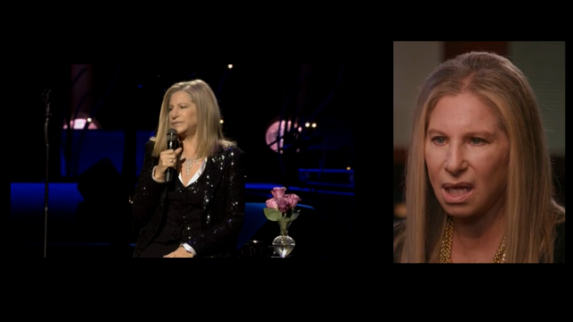"Barbra Streisand talks about how she copes with stage fright ahead of her upcoming tour, ""Barbra: The Music, The Mem'ries, The Magic!"" (July 21)"