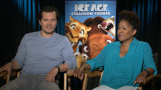 """Stars of new animated film """"Ice Age: Collision Course"""" Ray Romano, Wanda Sykes and John Leguizamo discuss the storyline, their inspiration and why they like the film. (July 21)"""