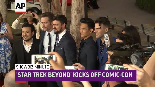ShowBiz Minute: Jenner, Comic-Con, Kerr
