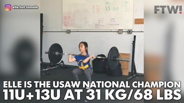 This 11-year old girl is stronger than you