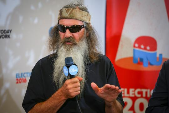 Phil Robertson talks about sin