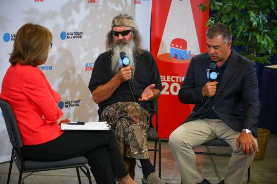 Phil Robertson talks about Donald Trump and the Bible
