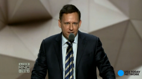 Peter Thiel: I'm proud to be gay, Republican, American