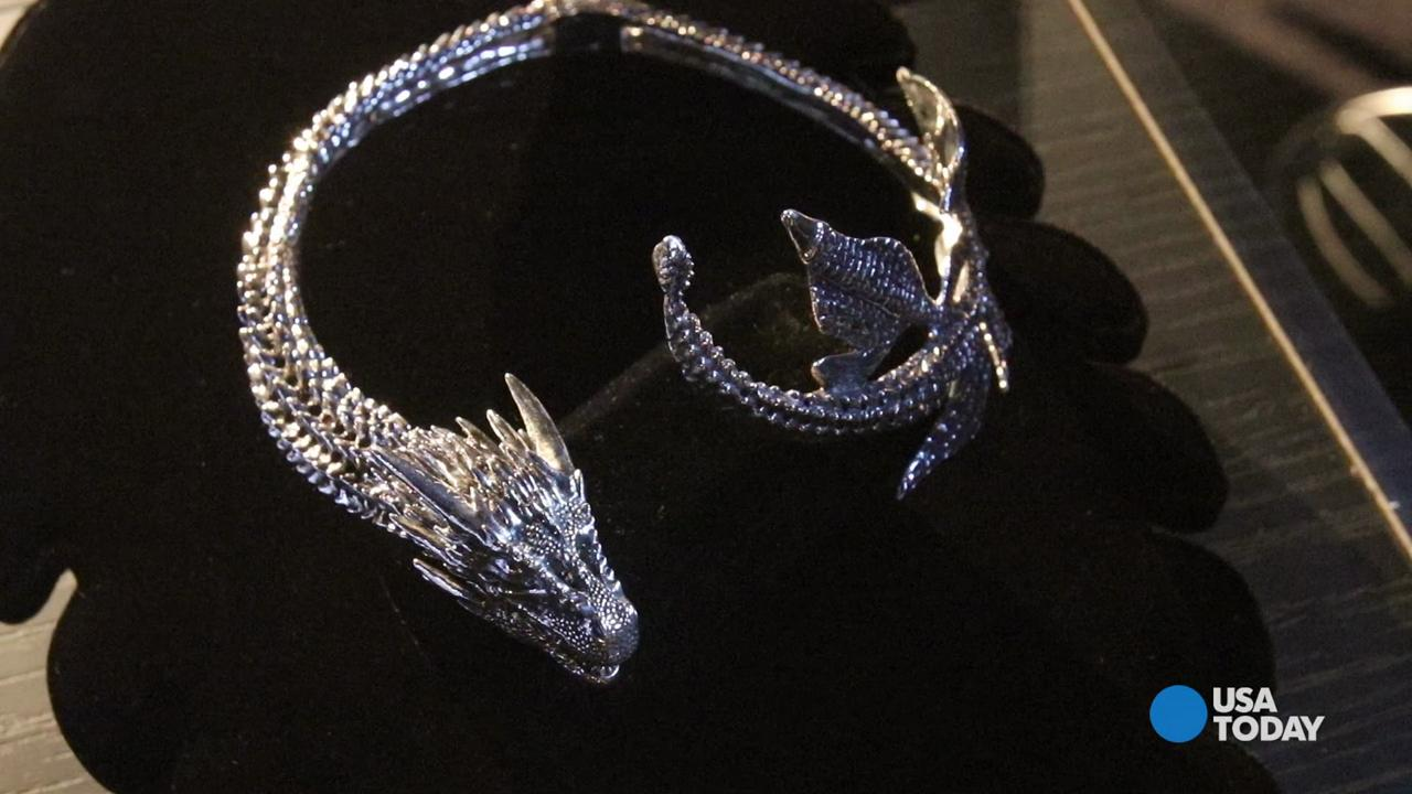 Bill Keveney talks to Game of Thrones designer Michele Clapton about her jewelry line.