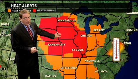 Friday's forecast: Extreme heat wave hits heartland