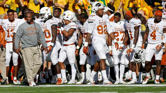 In this week's #DearAndy, Andy Staples is asked just how far away are the Texas Longhorns from a national title, and will Charlie Strong be the head coach when that happens?
