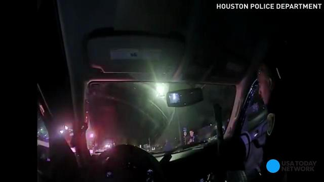 Houston police release bodycam footage of fatal shooting