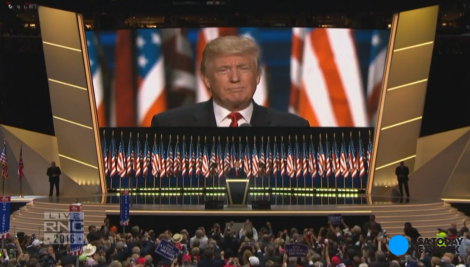 It's official: Trump accepts the GOP nomination