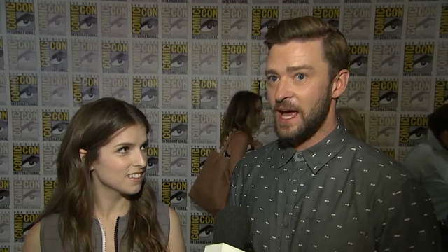"While promoting ""Trolls"" with Anna Kendrick at this year's Comic-Con International, Justin Timberlake recalls a previous trip when he dressed as Ernie the Muppet and took photos with fans. (July 22)"