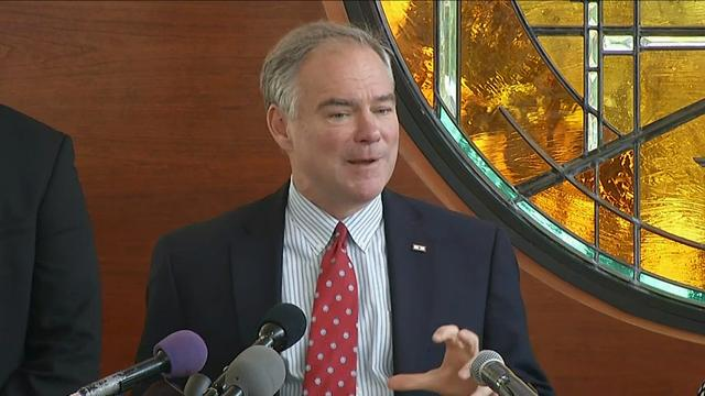 Kaine: 'I'm Not Looking for Another Job'