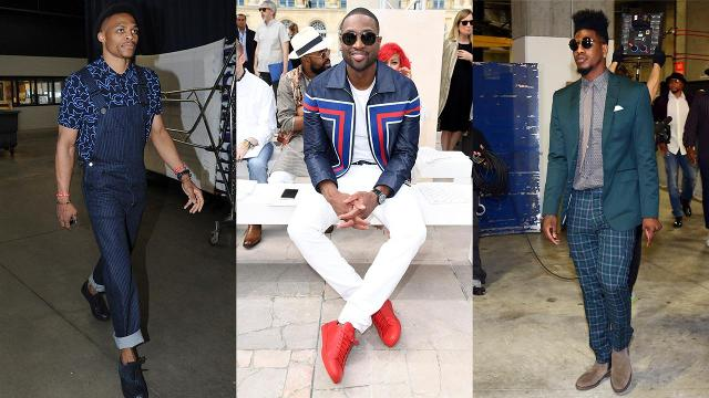 Athlete stylist and brand manager Dex Robinson talks about his favorite best dressed athletes and also gives his thoughts on Russell Westbrook, Dwyane Wade and Iman Shumpert's style.