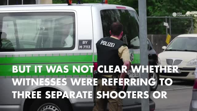 """Munich police are using the term """"suspected terrorism"""" in connection with the shooting at a city mall, according to the Associated Press."""