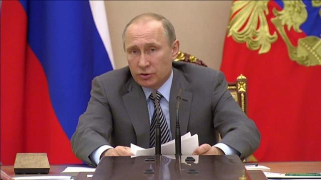 President Vladimir Putin insists Russia is committed to wiping out doping in a last-ditch push to avoid a possible blanket ban from the Rio Games over state-run drug cheating. Video provided by AFP