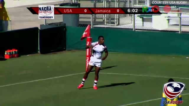 Carlin Isles looks to help the USA rugby team bring home a medal from Rio.