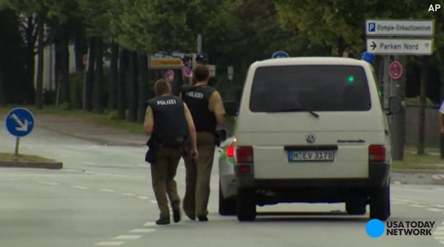 Police: Munich shooter no connection to Islamic State