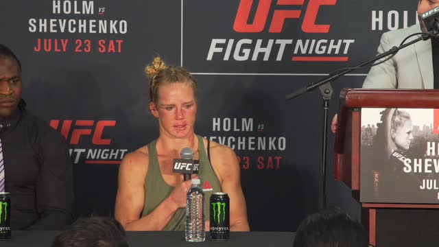 Tearful Holly Holm concedes her performance 'wasn't very good'