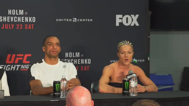 Felice Herrig says her burnout allowed her to finally dominate a fight