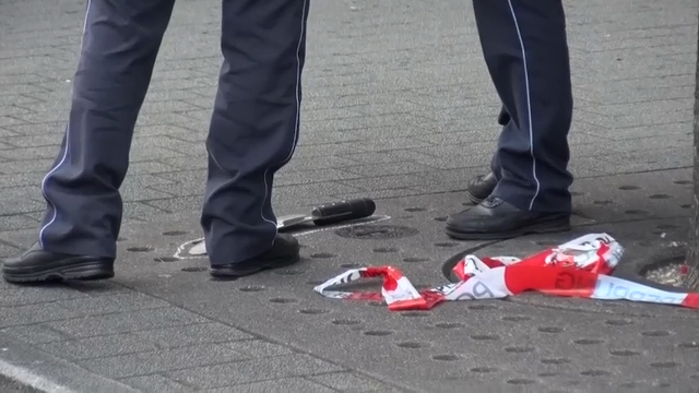 Police say a Syrian asylum-seeker killed a woman with a machete and wounded two others outside a bus station in the southwestern German city of Reutlingen before being arrested. His motive is still not known. (July 24)