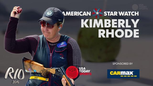 Get to know decorated Olympian Kim Rhode.