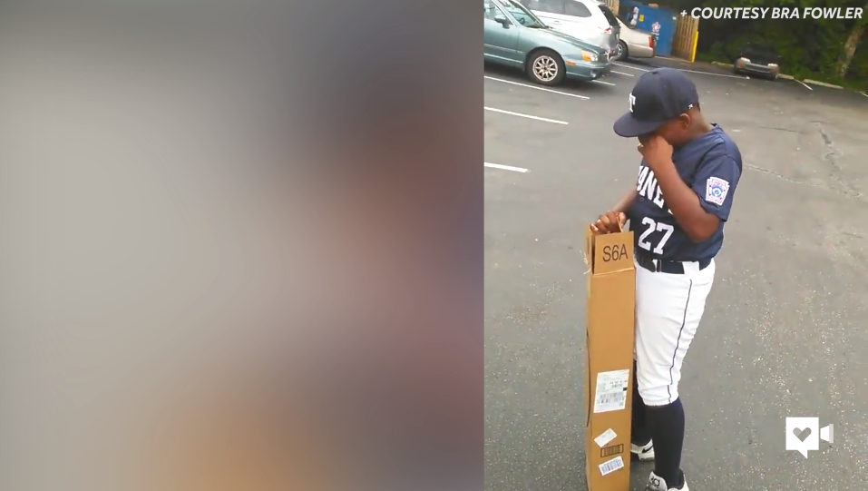 12-year-old Braheim Fowler thought his dad forgot about his birthday and sulks in the car on the way to his baseball game. His spirits are soon lifted after Dad tells him to take a look at what's waiting for him the trunk.
