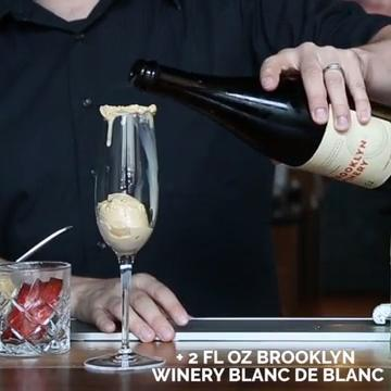 The team behind Brooklyn Winery just opened up BKW, a new restaurant in Crown Heights, Brooklyn, and have created the ultimate boozy summer indulgence: wine ice cream floats.