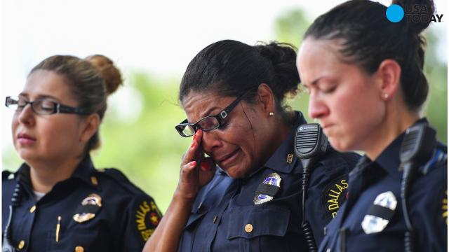 Police applications shoot up since Dallas massacre