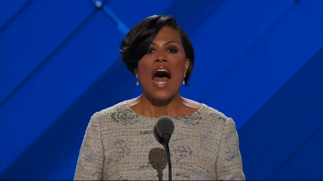 Baltimore Mayor Rawlings-Blake Gavels in DNC