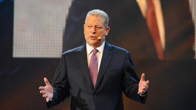 Al Gore announced that he won't be speaking at the Democratic National Convention, though he did encourage his Twitter followers to vote for Clinton. Video provided by Newsy