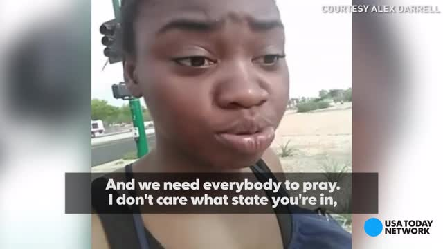With temperatures staying in the 100's in Arizona, a Phoenix resident took to social media asking everyone to pray for her state during this heat wave.