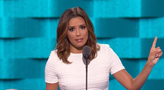 Eva Longoria: We didn't cross a border, it crossed us